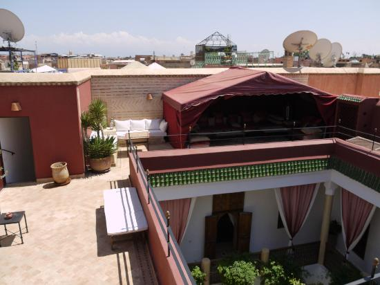 Riad El Zohar: Terrace View