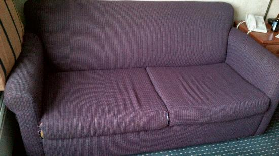 Americas Best Value Inn-Saginaw South: Couch