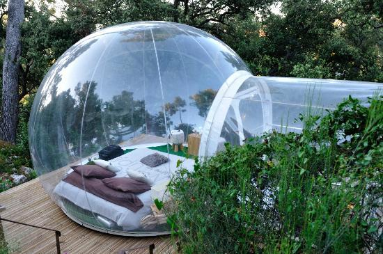 Bulle nature picture of attrap 39 reves allauch tripadvisor for Hotel de reve france