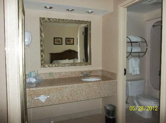 Holiday Inn Express Mentor (Lamalfa Conference Center): Bathroom