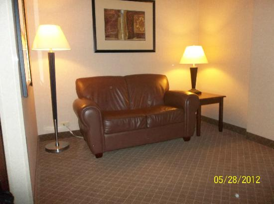 Holiday Inn Express Mentor (Lamalfa Conference Center): Loveseat