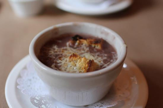 Stevenswood Resort And Spa: French Onion soup at Stevenswood was tasty