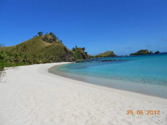 Yasawa Island, Fiyi: Just one of the beaches