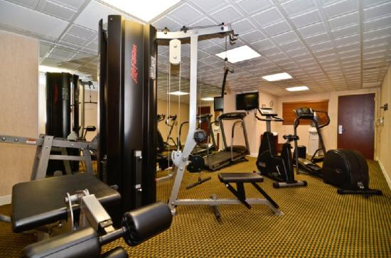 BEST WESTERN Burlington Inn: Fitness Center