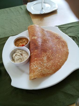 Savannah Sinclairs: masala dosa for breakfast