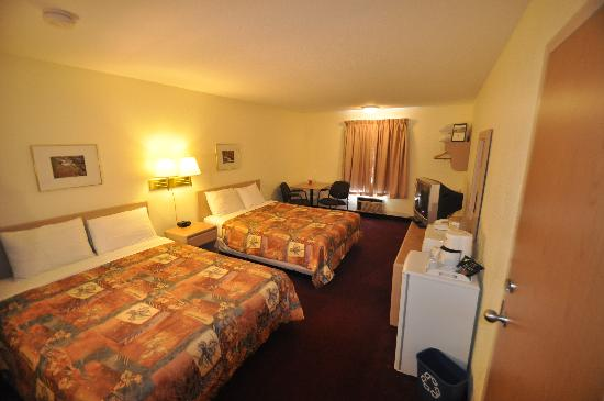 Room at Super 8 Fernie