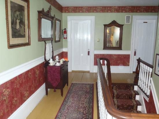 A Seafaring Maiden Bed and Breakfast: Just outside our door in the upper hallway