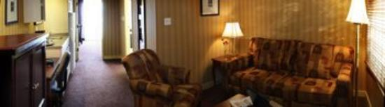 Executive Hotel Burnaby: Deluxe Suite - Seating / Living Area