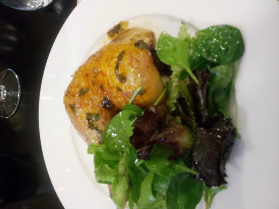 LIFeStyle: Saffron-lime chicken