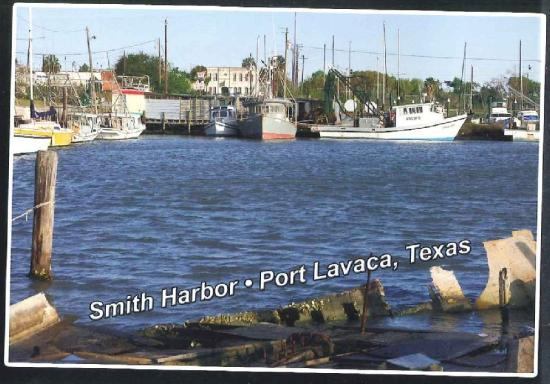Highway picture of port lavaca texas gulf coast for Port lavaca fishing report