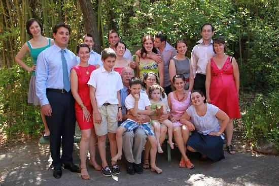 Les Arbousiers: Our family - Jun12
