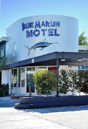 Blue Marlin Motel : Front Entrance