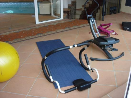 Lagarrigue, Frankrike: Fitness Center