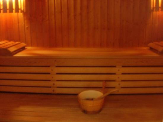 Lagarrigue, Frankrike: Sauna