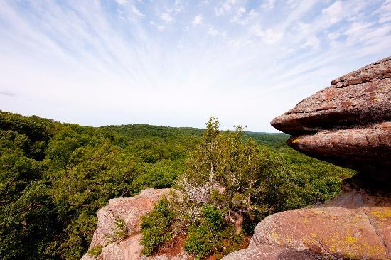 Illinois: Garden of the Gods, Shawnee National Forest