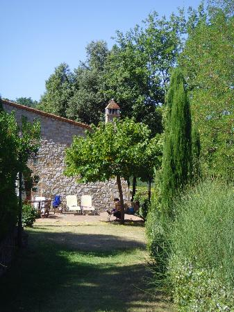 Il Torrino: Own secluded area - BBQ and dinning