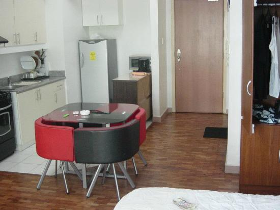JMM Apartment Suites: my kitchen dining area