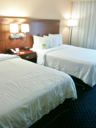 Courtyard by Marriott Augusta: Comfy and clean beds