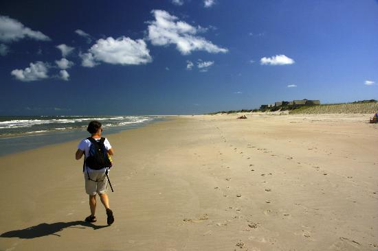 North Carolina: A beautiful, unpopulated (in May) beach on Bald Head Island.