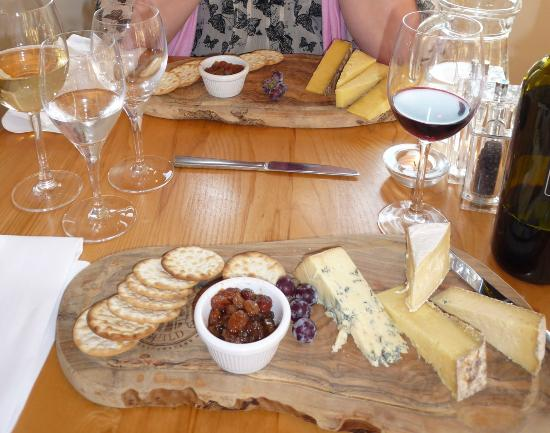 The Bell Hotel: The Kentish Cheeses Cheese Board