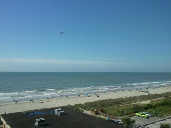 Comfort Inn & Suites Beach Front Central: View from 706
