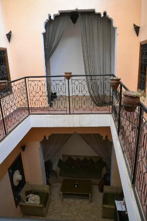 Riad Amlal: 1st floor view