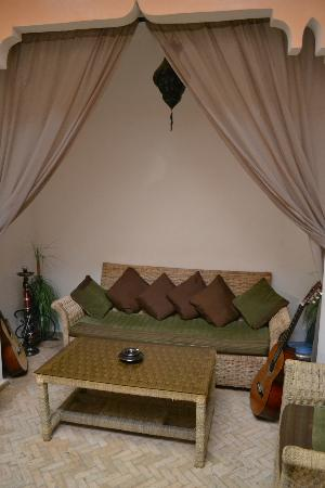 Riad Amlal: Common area