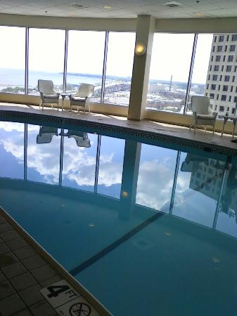 Pool View Out Towards Lake Michigan Picture Of The