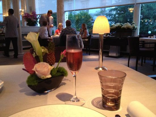 Baur au Lac: Dinner at Pavillon