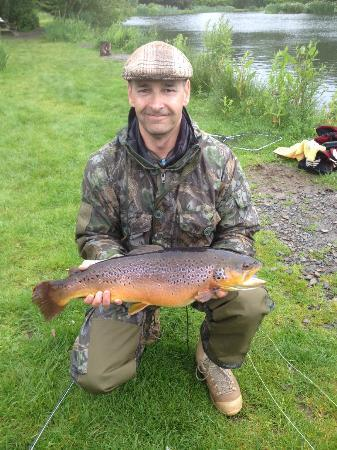 The Osborne Hotel: 9lb Brown Trout - Fishing Trip Organised by Nic at Hotel!