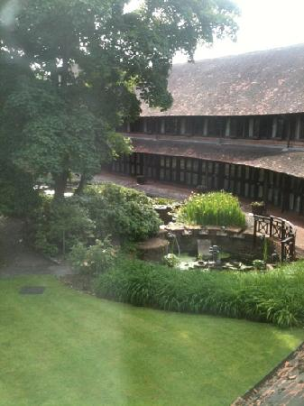Missenden Abbey Conference Centre: view from my room