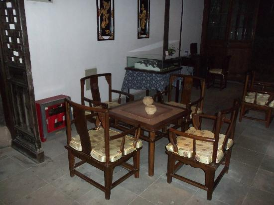 Pingjiang Lodge: One of the common areas
