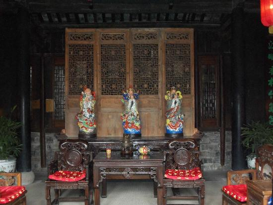 Pingjiang Lodge: The lobby