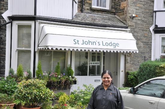 St John's Lodge: Front of St. John's Lodge, Windermere