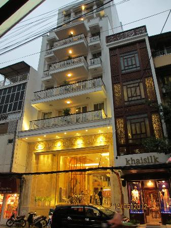 The facade of the hotel picture of golden silk boutique for Boutique hotel 1 hanoi