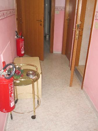 Albergo Tizi: Ashtrays and extinguishers