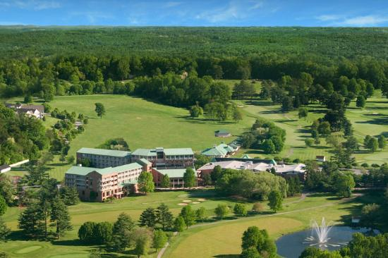 Turf Valley Resort and Conference Center: Aerial Photo Cropped A