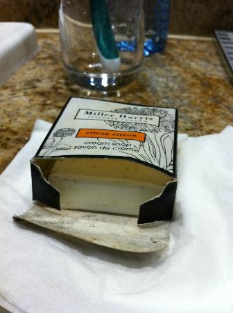 Fairmont The Norfolk: Moldy soap