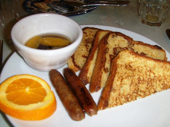 The Kenmore Inn : Grand Marnier French Toast 