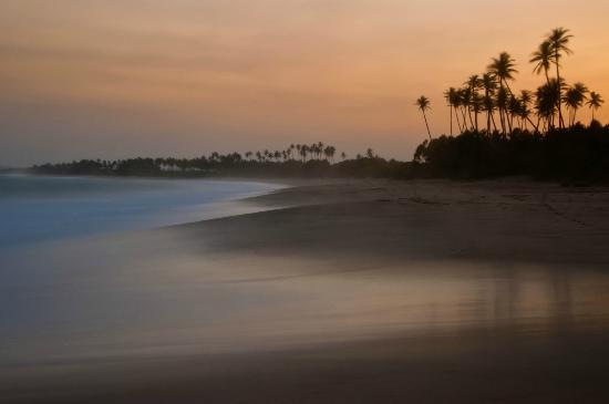 Tangalle, Sri Lanka: Beach at sunset
