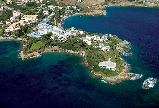 CAPSIS Elite Resort situated on a private peninsula