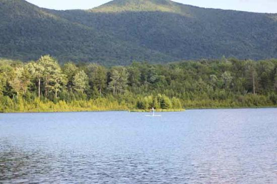 Roxbury, VT: Paddle Boarding on the lake