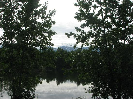 SpringHill Suites Anchorage University Lake: View from near the back patio