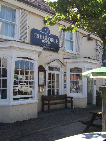 The George Hotel at Easingwold: Front of The George
