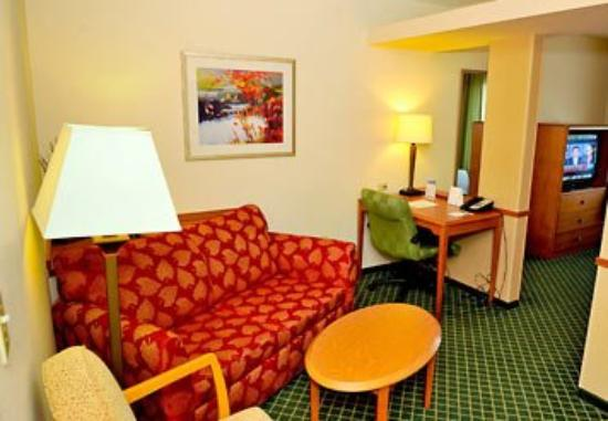Fairfield Inn and Suites Elizabethtown: Suite Sitting Area