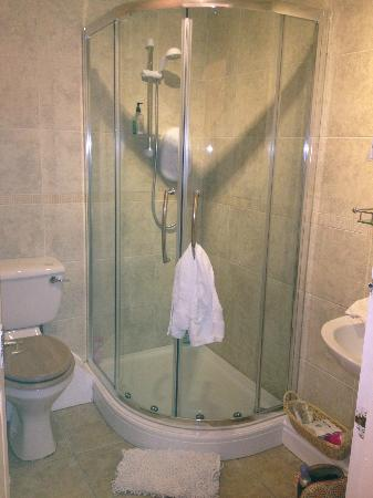 Bathwick Street B & B: shower ensuite