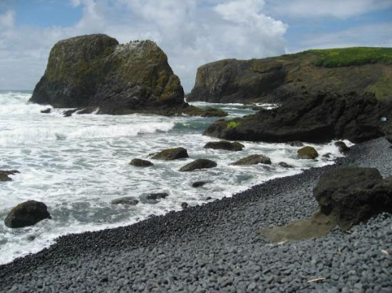 Black Stone Beach Picture Of Yaquina Head Outstanding