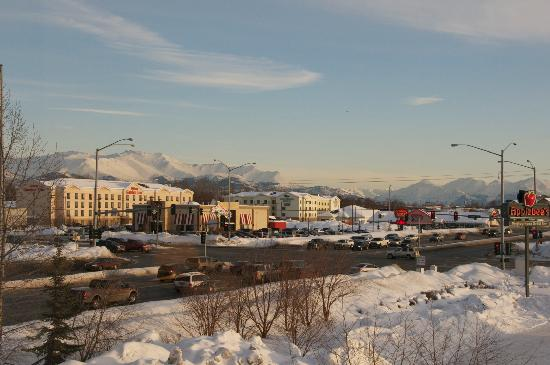 Hampton Inn Anchorage: View from room 332