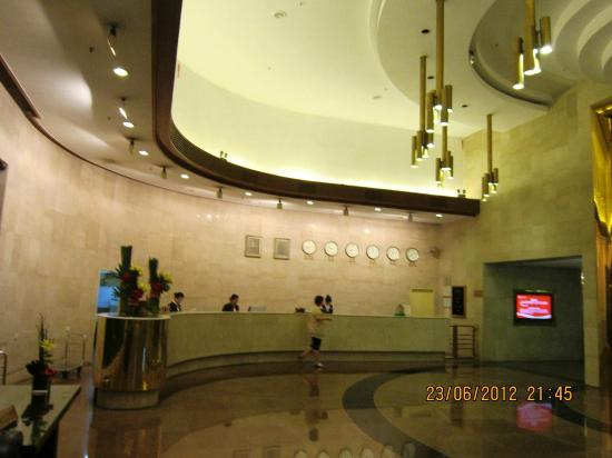 Guangzhou Hotel: Reception Area