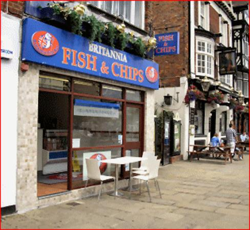 Britannia Fish And Chips Portsmouth Restaurant Reviews